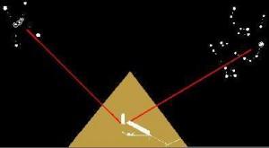 piramida Cheopsa a gwiazdozbiory